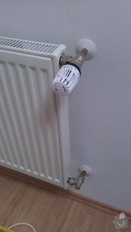 Přidání radiátoru: IMAG0348