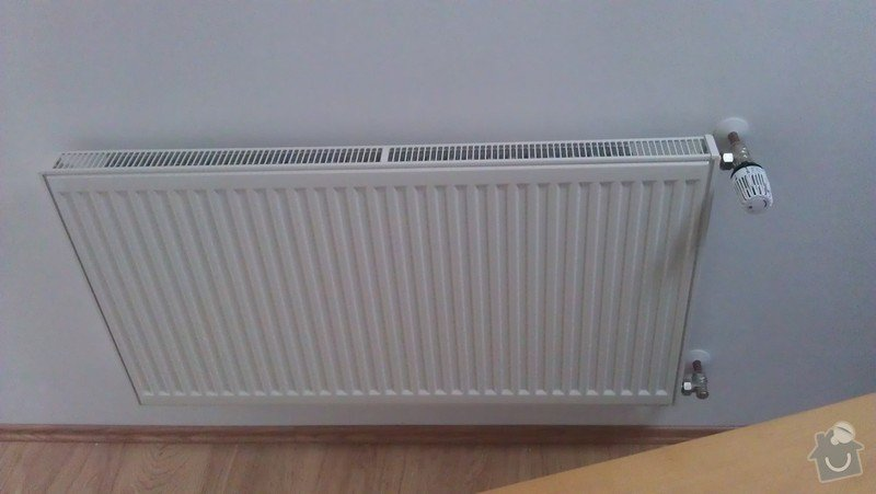 Přidání radiátoru: IMAG0349
