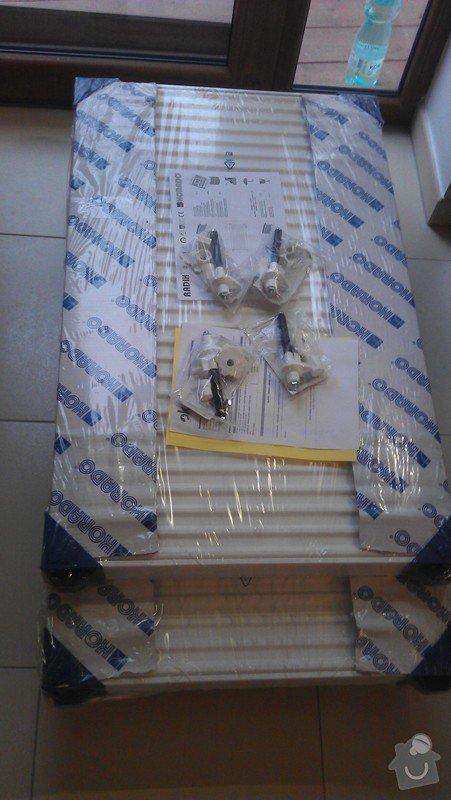 Přidání radiátoru: IMAG0364
