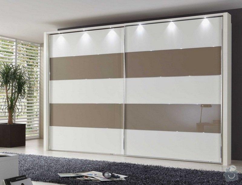 Výroba a montáž moderní vestavěné skříně na míru: vestavena_skrin