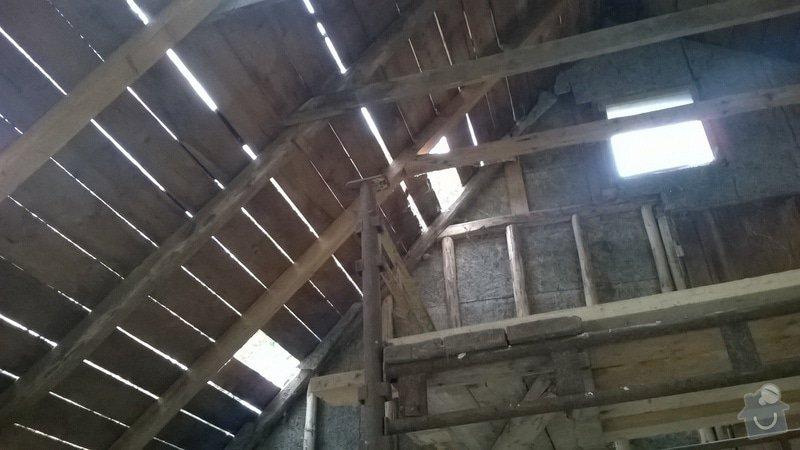 Rekonstrukce  střechy: WP_20140707_002