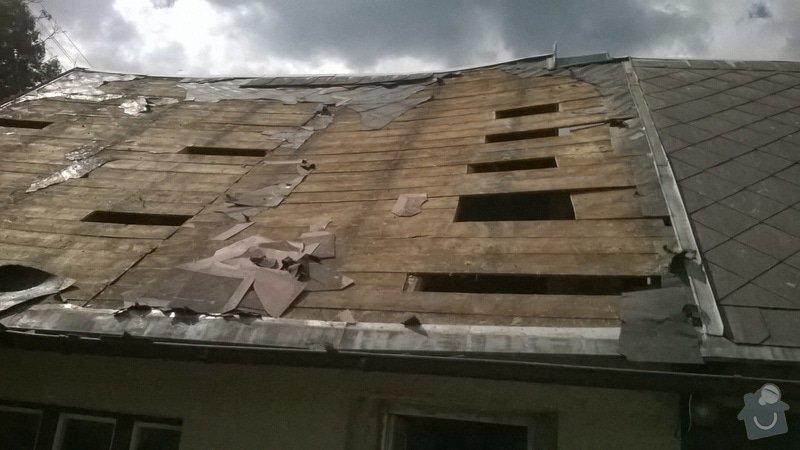 Rekonstrukce  střechy: WP_20140707_003