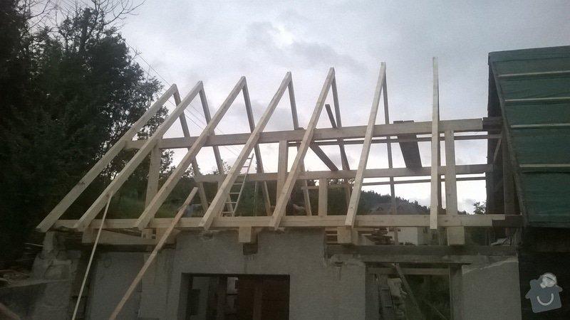 Rekonstrukce  střechy: WP_20140724_002