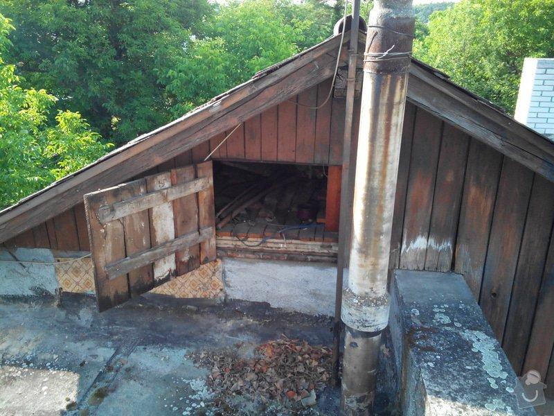 Výměna krytiny a klempířských prvků - střecha 66m2: IMG_20140701_101627