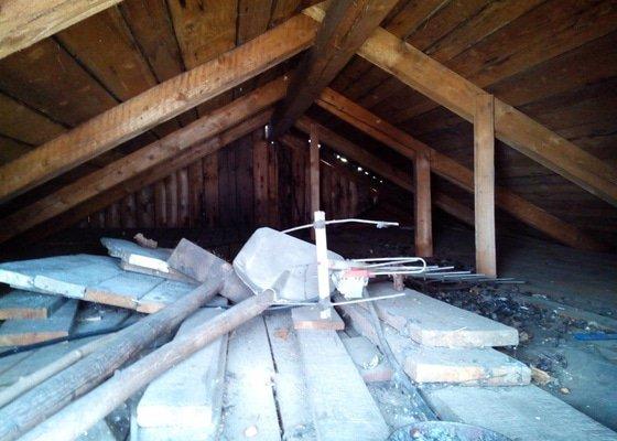 Výměna krytiny a klempířských prvků - střecha 66m2