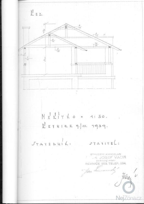 Výměna krytiny a klempířských prvků - střecha 66m2: planek1