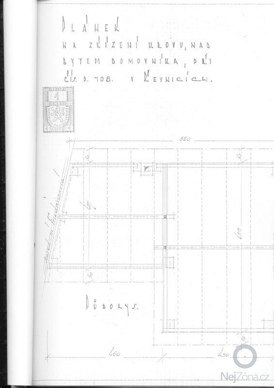 Výměna krytiny a klempířských prvků - střecha 66m2: planek2
