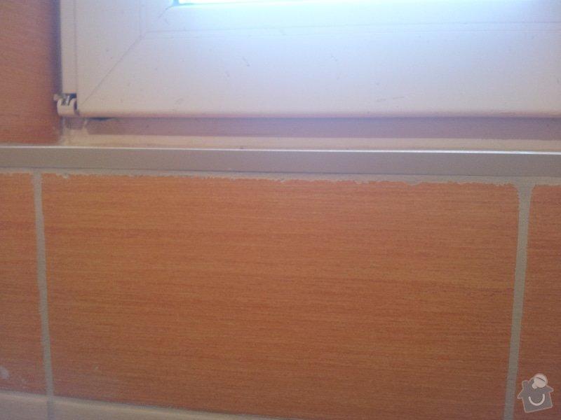 Srovnání zdí a následný obklad koupelny v rodinném domě: 20141006_162759