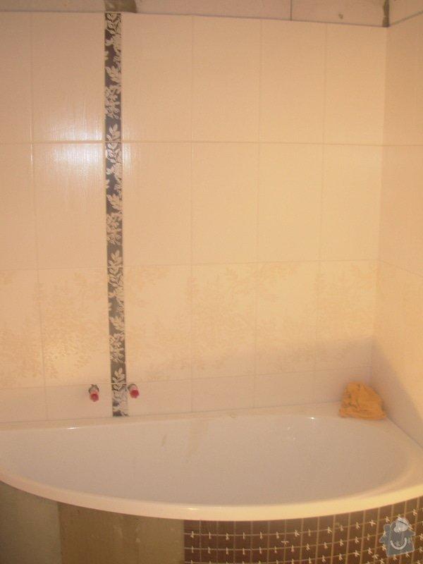 Obklad koupelny: DSCN3865