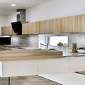 Realizace kuchyne na miru moderni svetle drevo
