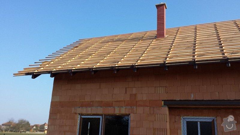 Dodělání střechy: 20150217_135023