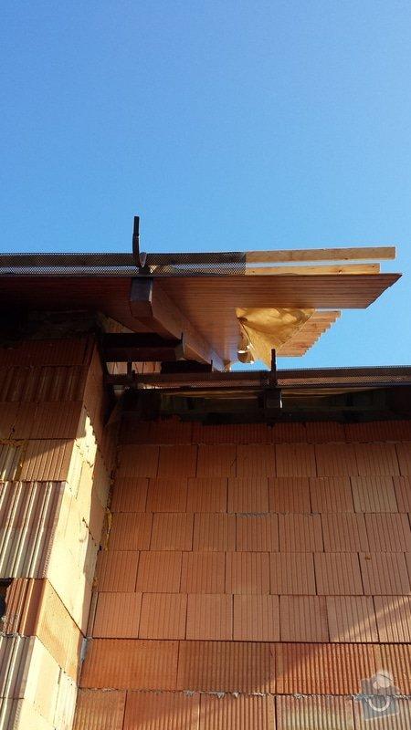 Dodělání střechy: 20150217_135139