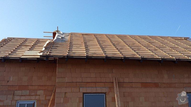Dodělání střechy: 20150217_134917
