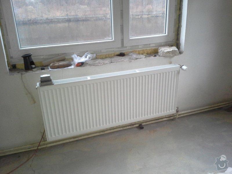 Výměna radiátorů, napojení elektrokotle: 20141211_105345