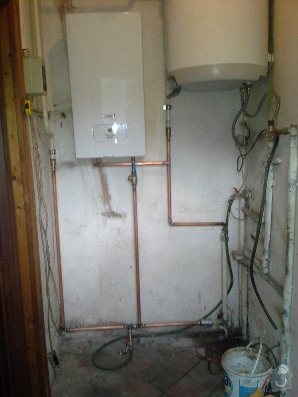 Výměna radiátorů, napojení elektrokotle: 20141211_114423