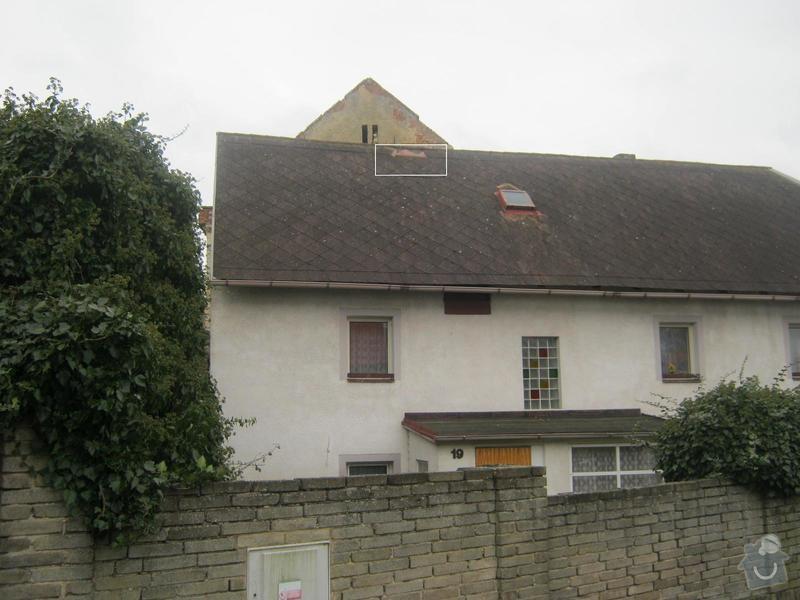 Oprava střechy: Detail_poskozeni