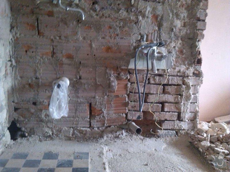 Rekonstrukce vody a odpadu v koupelně : Koupelna2