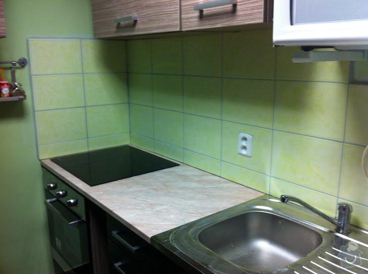 Obklad nad kuchyňskou deskou: obkladani