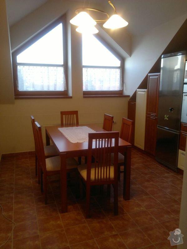 Bílení podkrovního bytu 68 m2 v ČB: kuchyn_4