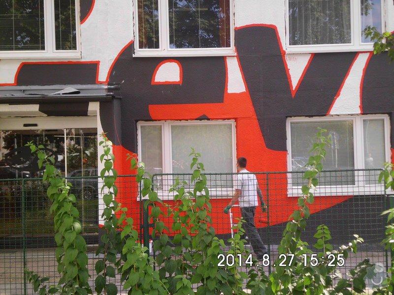 Opravy a nátěry fasády, nátěry střech,zábradlí, okapů  a schodišťové konstrukce: HPIM0099