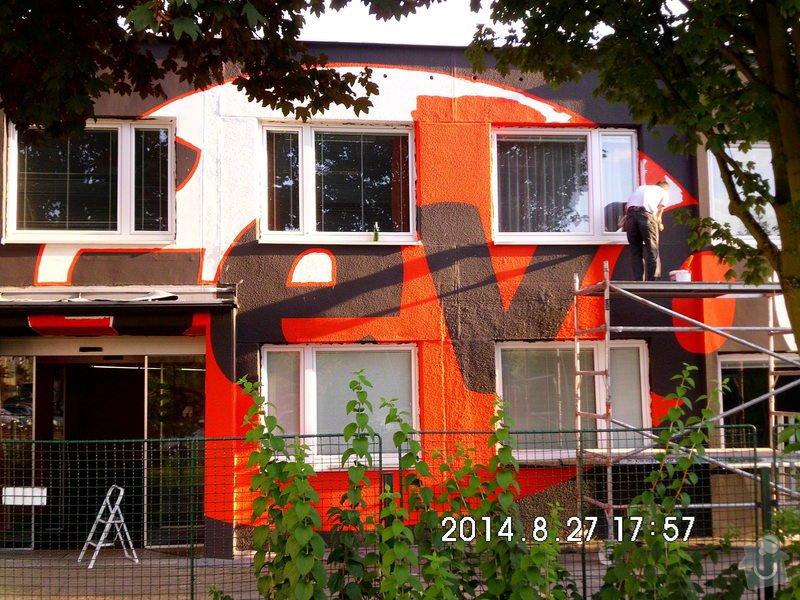 Opravy a nátěry fasády, nátěry střech,zábradlí, okapů  a schodišťové konstrukce: HPIM0103