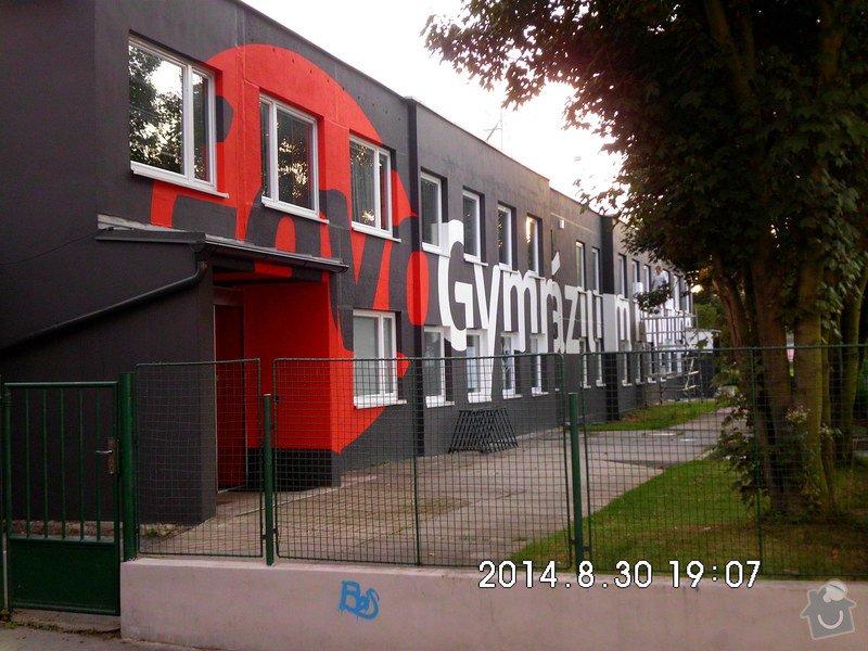 Opravy a nátěry fasády, nátěry střech,zábradlí, okapů  a schodišťové konstrukce: HPIM0162