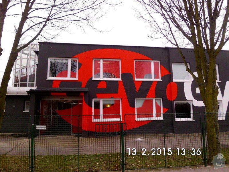 Opravy a nátěry fasády, nátěry střech,zábradlí, okapů  a schodišťové konstrukce: HPIM0619