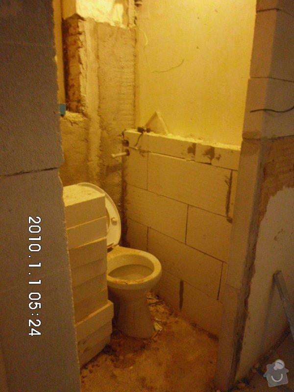 Obklad WC a koupelny: 1