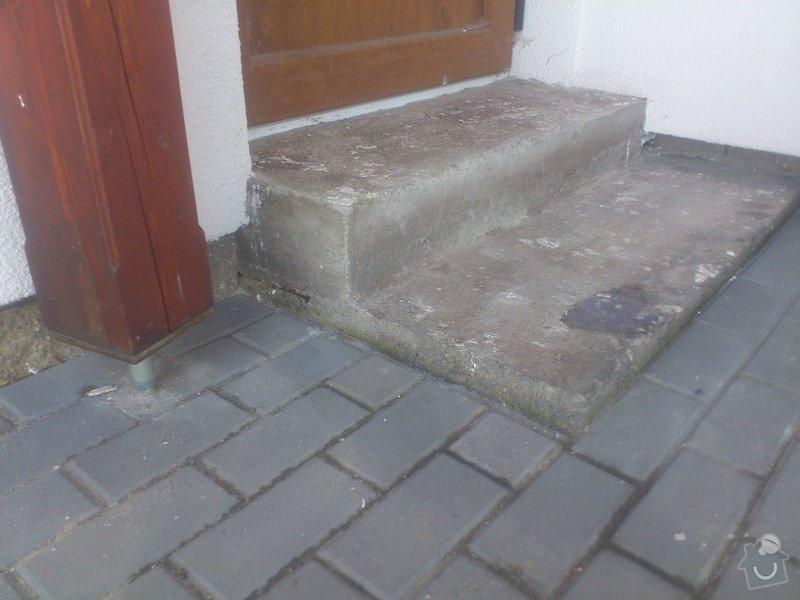 Blažby vnějších schodišť, obložení krbu: 14