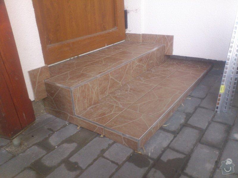 Blažby vnějších schodišť, obložení krbu: 15