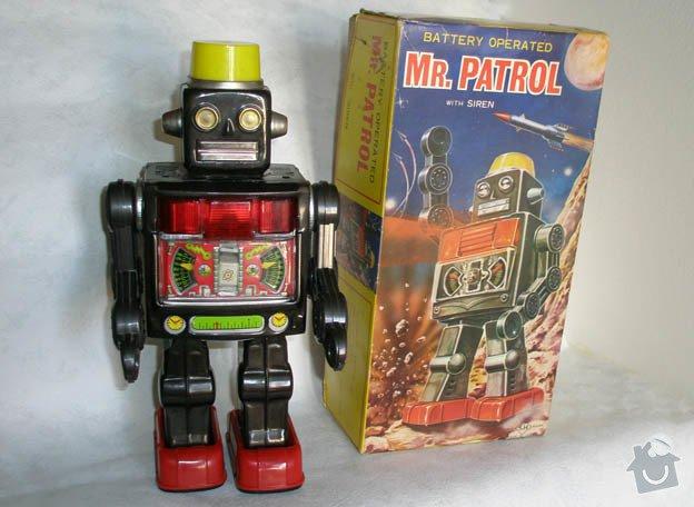 Oprava hračky robota: 0001