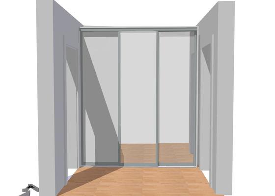 Vestavěná skříň do předsíně, nábytek do koupelny
