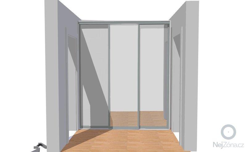 Vestavěná skříň do předsíně, nábytek do koupelny: Gajzurova_chodba_2