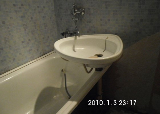 Obklad WC a koupelny