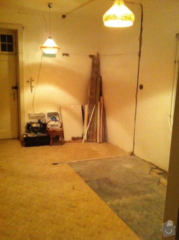 Renovace parket a D+M vinylové podlahy Wineo: IMG_3367