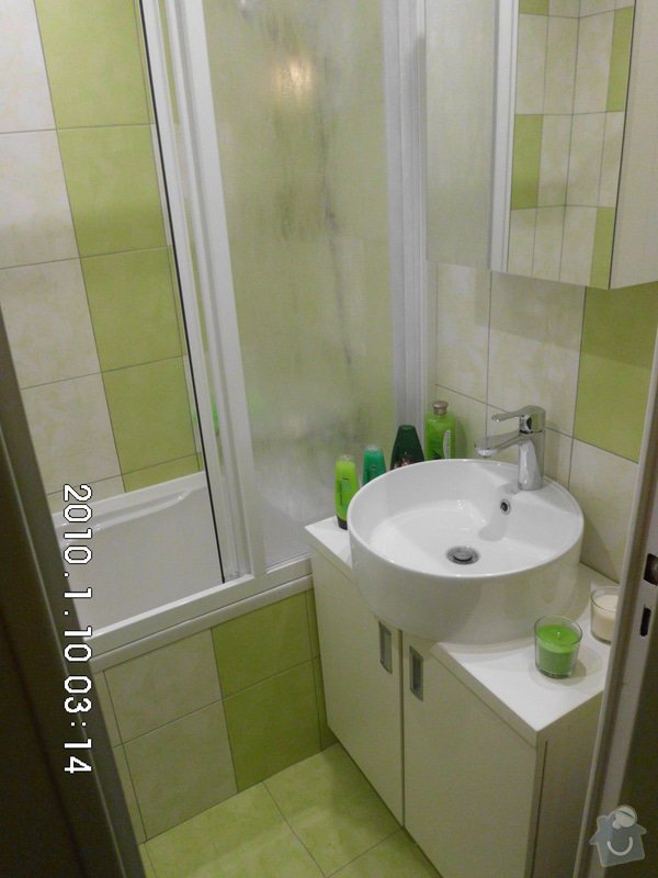 Obklad WC a koupelny: HPIM0377