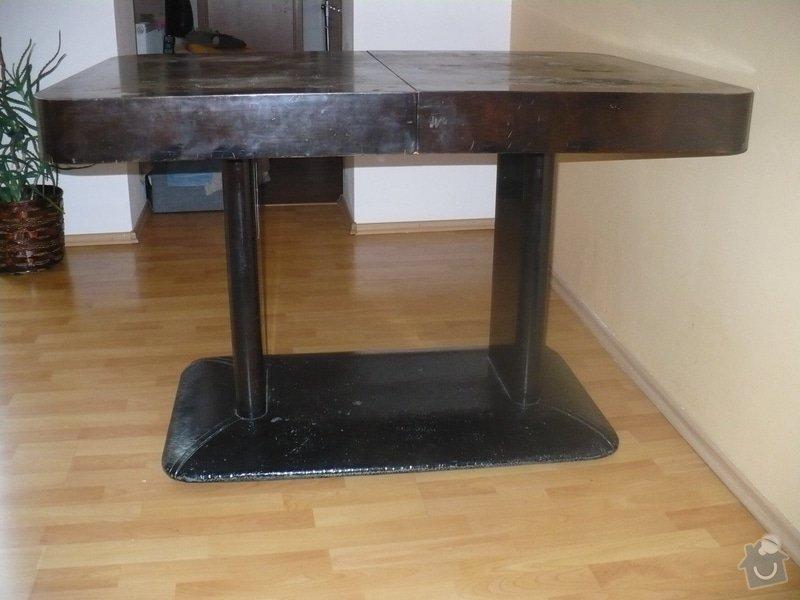 Lakování jídelního stolu: P1090029