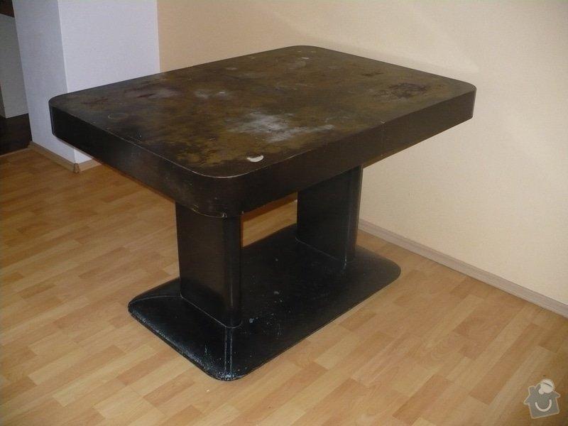 Lakování jídelního stolu: P1090031