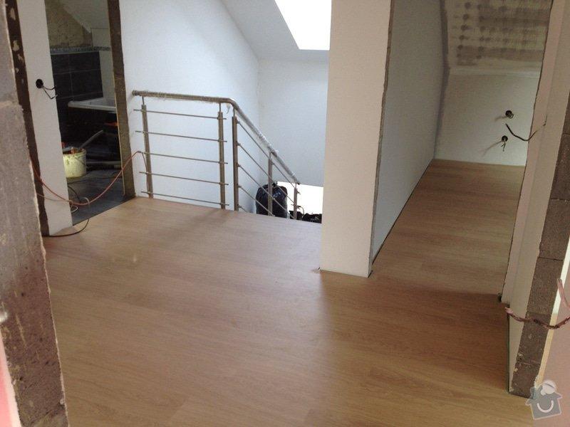 Pokládka plovoucí podlahy: 1