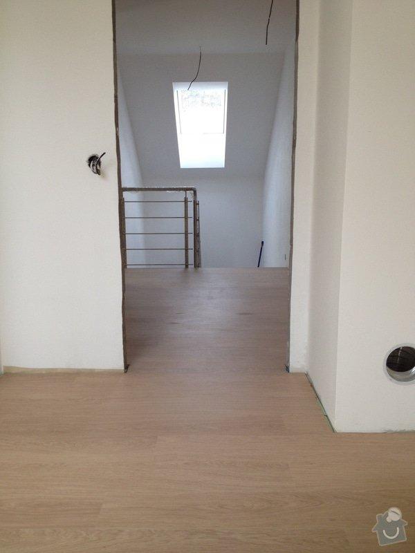 Pokládka plovoucí podlahy: 2