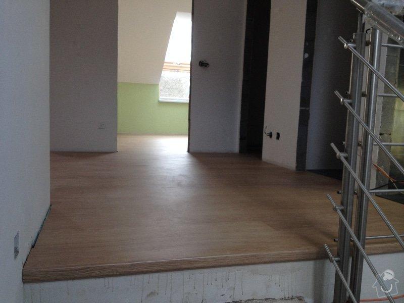 Pokládka plovoucí podlahy: 7