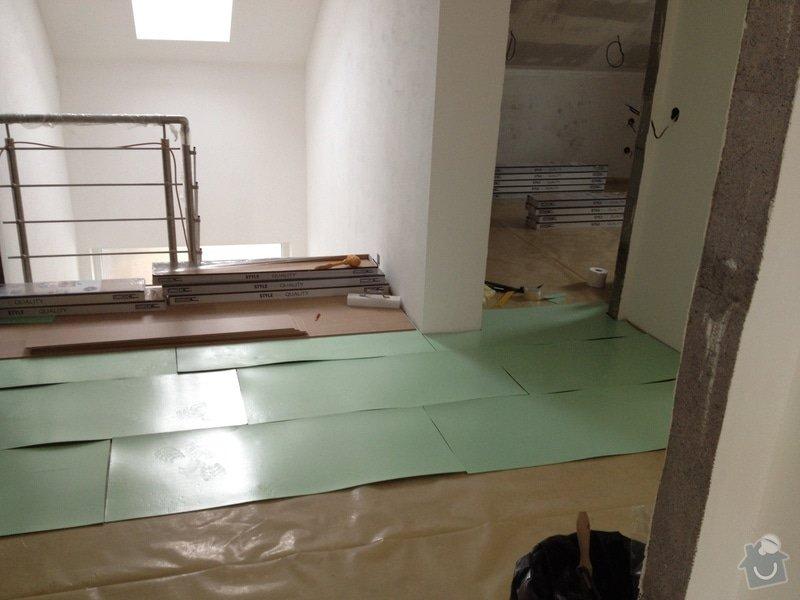 Pokládka plovoucí podlahy: 8