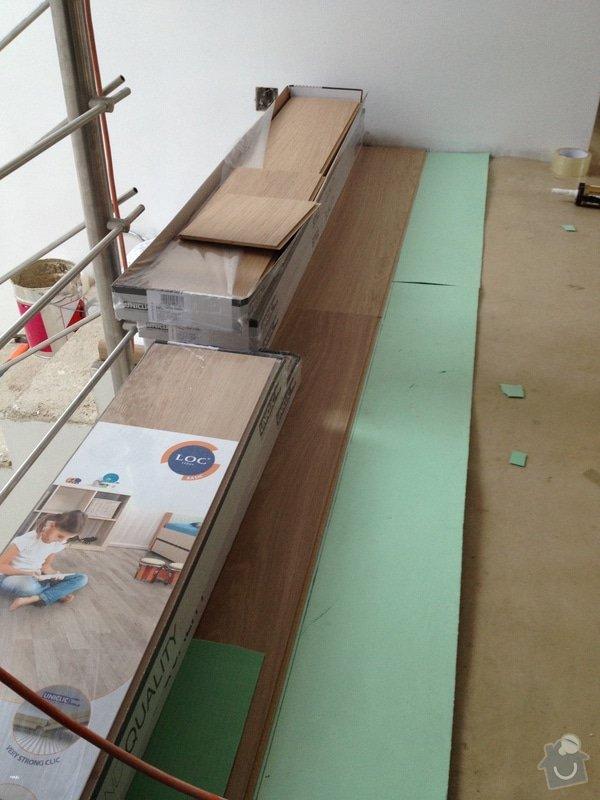 Pokládka plovoucí podlahy: 9