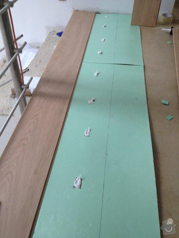 Pokládka plovoucí podlahy: 9a