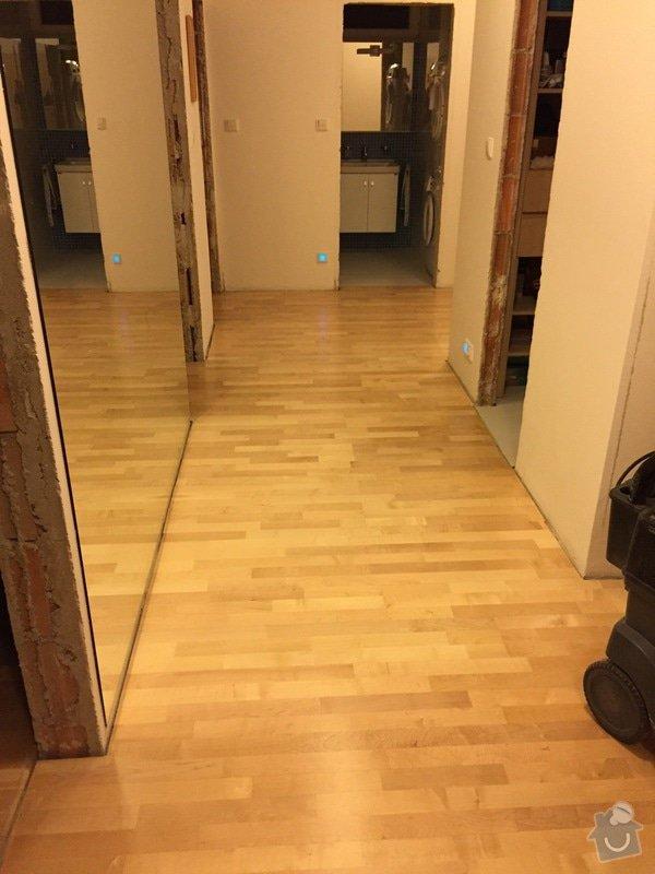 Oprava dřevěné plovoucí podlahy: 104