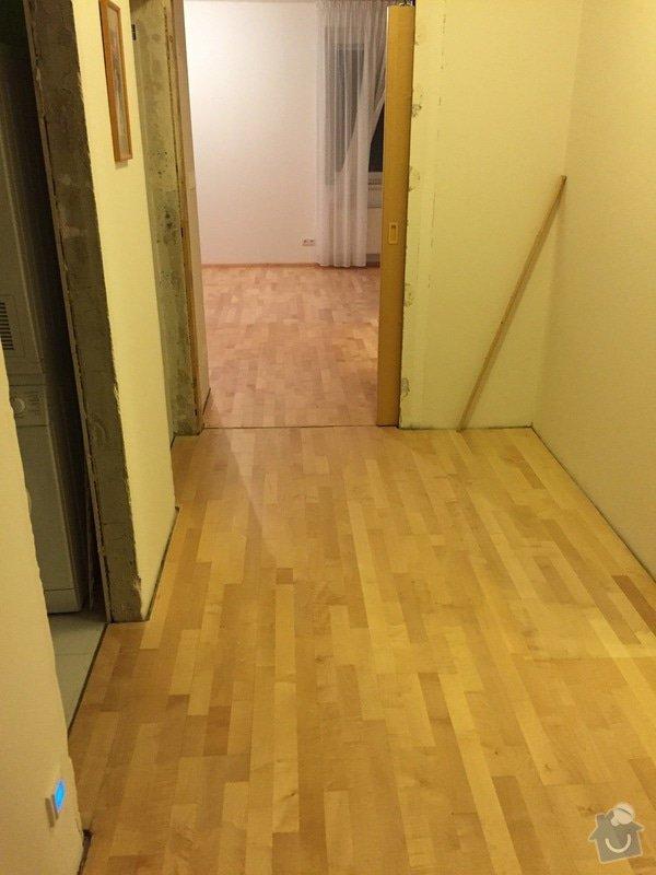 Oprava dřevěné plovoucí podlahy: 105