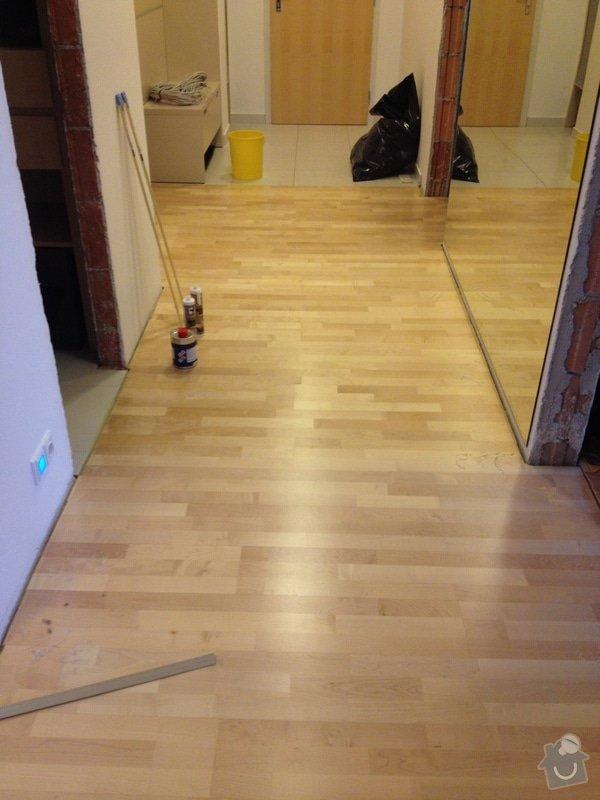 Oprava dřevěné plovoucí podlahy: 106