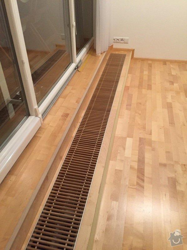 Oprava dřevěné plovoucí podlahy: 107