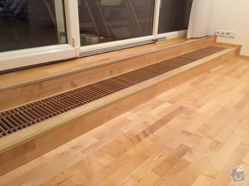 Oprava dřevěné plovoucí podlahy: 108