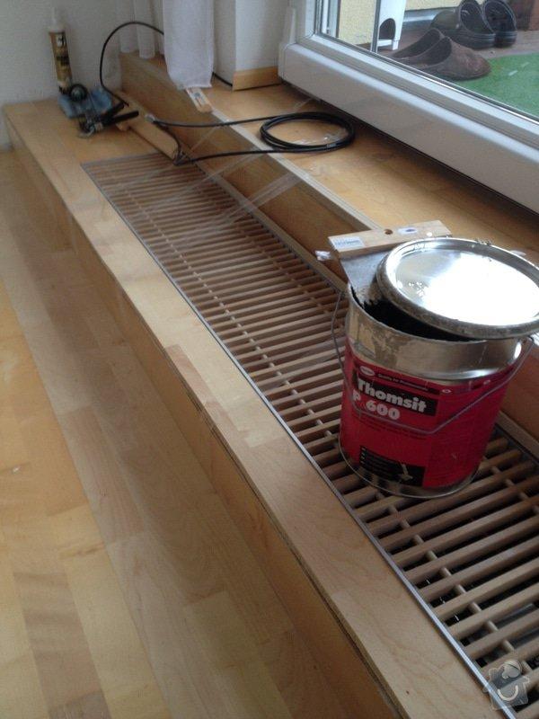 Oprava dřevěné plovoucí podlahy: 109